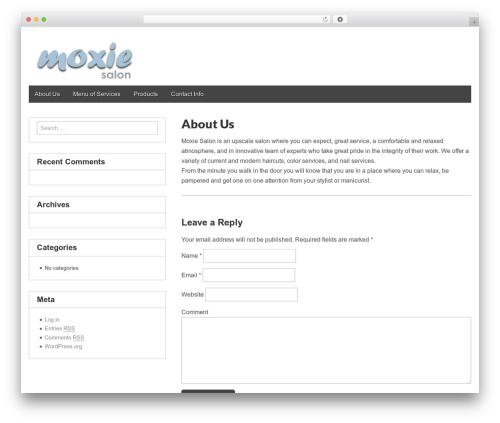 Gridiculous template WordPress free - moxiesalonpagosa.com