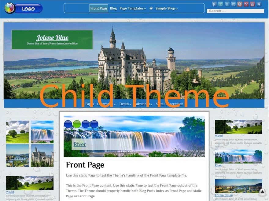 Jolene Child theme WordPress