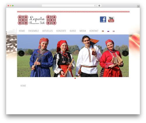 Free WordPress Polylang plugin - massin-music.com