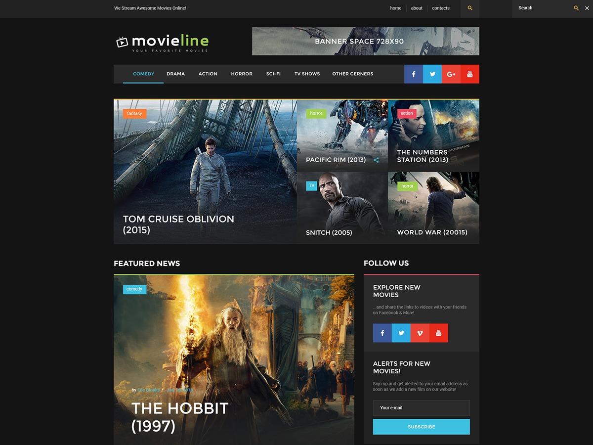 movies_online best WordPress video theme
