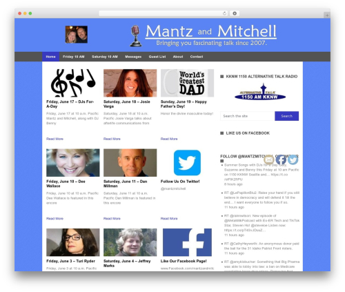 Portal by MyThemeShop WordPress shop theme - mantzandmitchell.com