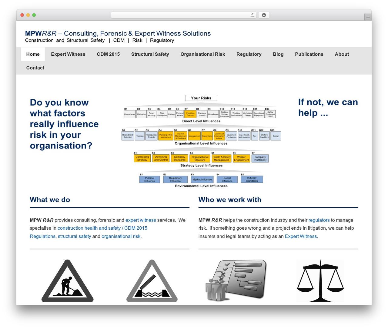 Responsive WordPress template free - mpwrandr.co.uk