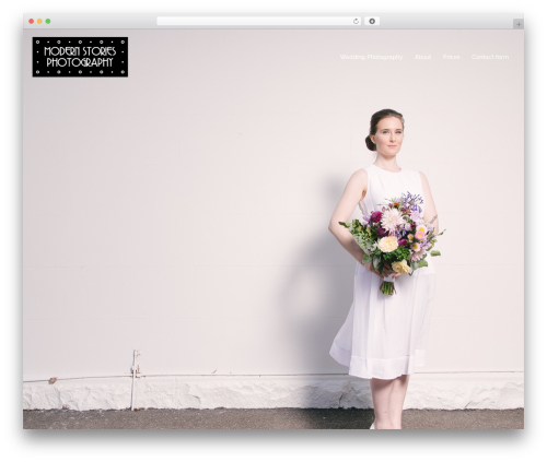 Sydney best wedding WordPress theme - modernstories.com.au