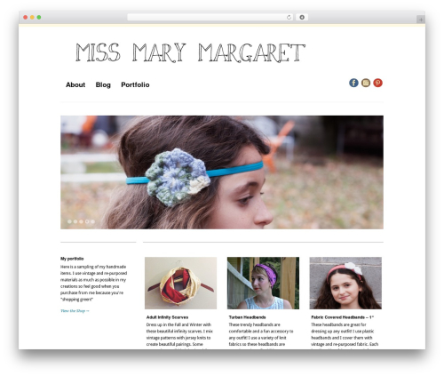 "Free WordPress Pinterest ""Pin It"" Button plugin - missmarymargaret.com"