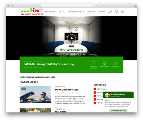 Free WordPress vooPlayer v4 plugin - mpu-scout.de