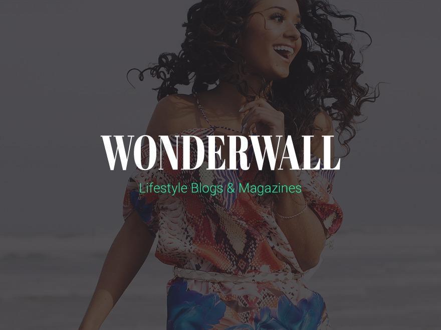 Wonderwall Magazine WordPress news theme
