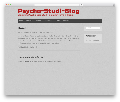 WordPress theme Gridiculous - manu-bielow.de