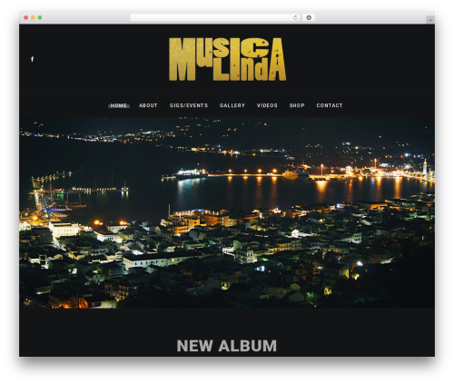 WordPress theme Zona - musicalinda.com.au
