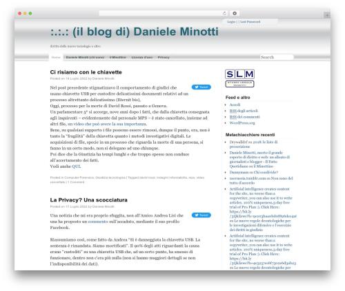 WordPress quoter plugin - minotti.net