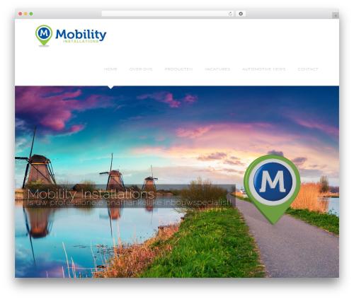 Avada WordPress theme - mobilityinstallations.com