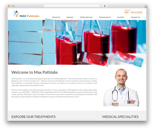 Best WordPress template Avada - maxpathlabs.in