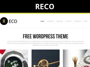 Best WordPress theme Reco