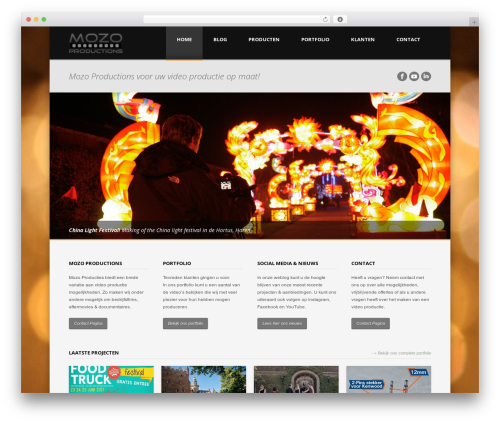Brave Responsive Business WordPress Theme WordPress video template - mozoproductions.nl