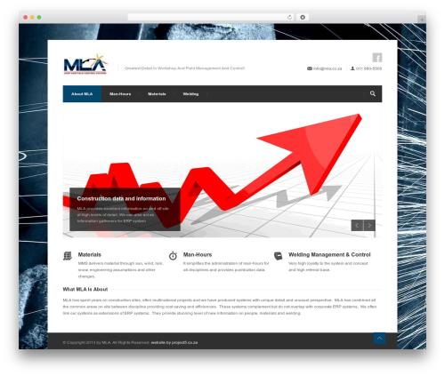 Centum WP (shared on themelock.com) WordPress ecommerce theme - mla.co.za