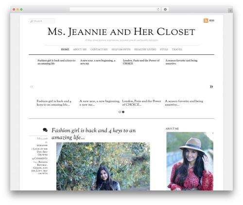 Elemin fashion WordPress theme - msjeannieandhercloset.com