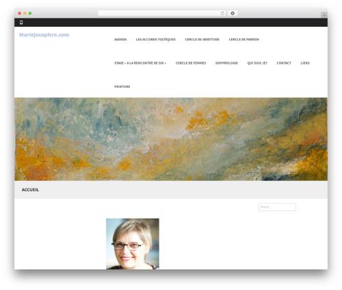 Formation best WordPress theme - mariejosophro.com