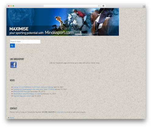 Responsive WordPress theme free download - mind4sport.com