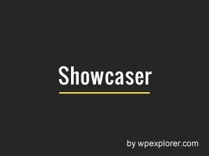 Showcaser WP template
