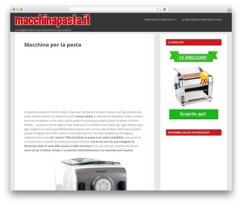 Free WordPress FancyBox plugin - macchinapasta.it