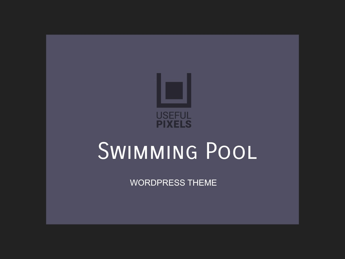 SwimmingPool WordPress theme