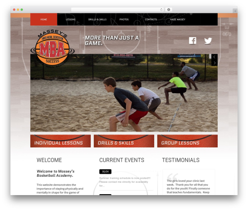 Theme 1274 WordPress gaming theme - masseysbasketball.com