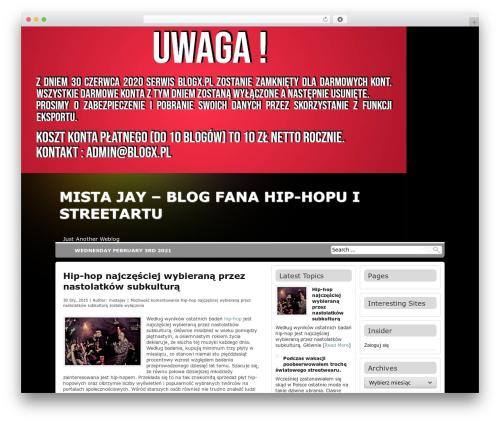 Theme WordPress Antisnews - mistajay.blogx.pl