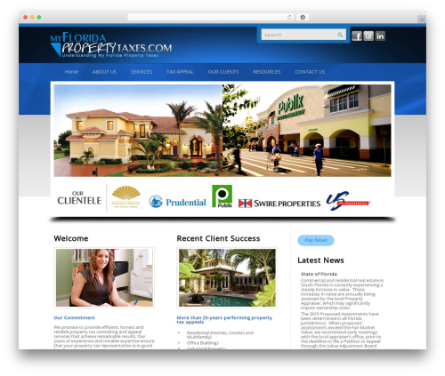 Twenty Eleven WordPress template free download - myfloridapropertytaxes.com