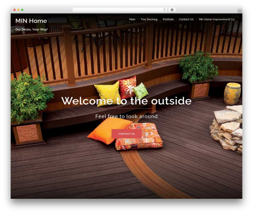 WordPress template Sydney - minhome.co