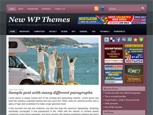 WordPress theme Verde