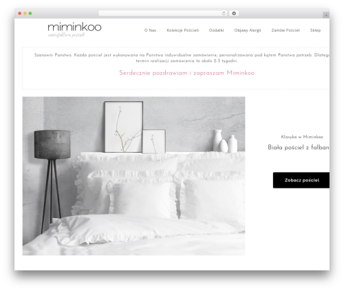 Astrid free WordPress theme - miminkoo.com