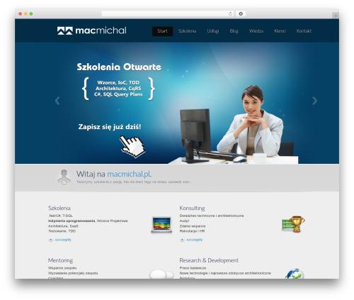 Envision Child WordPress theme - macmichal.pl