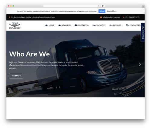 Free WordPress Slick Sitemap plugin - macksprings.com