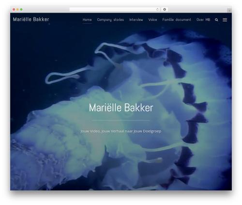 Inspiro theme WordPress - mariellebakker.nl