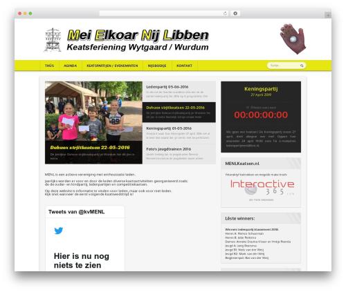 Sportimo Premium Theme WordPress theme - menlkeatsen.nl