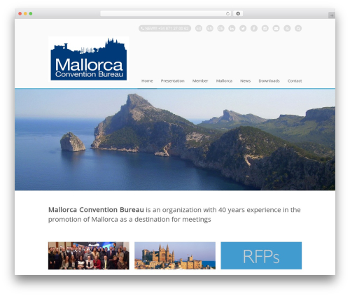 Stack WordPress theme - mallorcacb.com