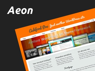 Template WordPress Aeon for Ashford