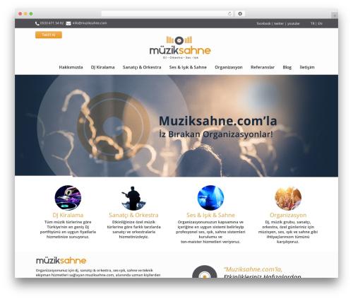 Theme WordPress Incredible WP - muziksahne.com