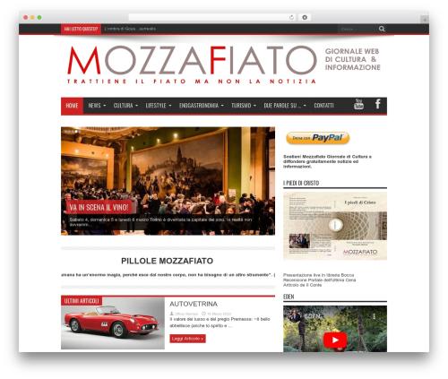 Theme WordPress Jarida - mozzafiato.info