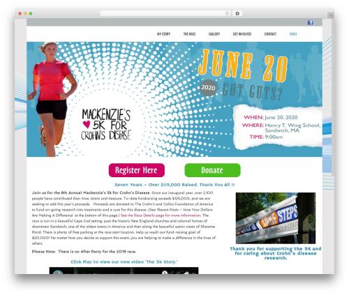 Theme WordPress Subway - mackenzies5k.com