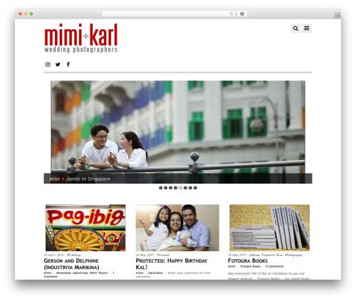 Themify Simfo best WordPress gallery - mimiandkarl.com