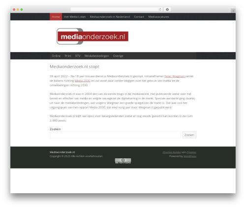 WordPress theme Coverage - mediaonderzoek.nl