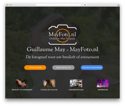 WordPress theme neve - mayfoto.nl