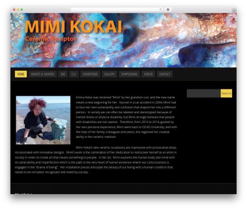 WordPress theme Noise - mimikokai.com