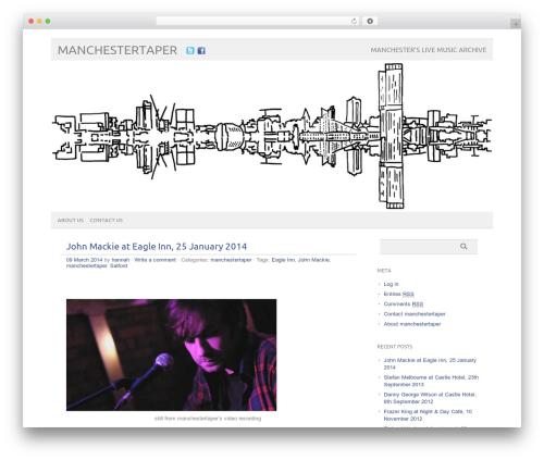 WordPress theme picolight - manchestertaper.co.uk