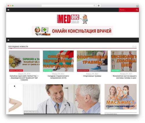 Yaaburnee Premium Theme best WordPress theme - meddoc.com.ua