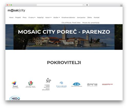 Zerif Lite WordPress theme free download - mosaiccity.org/wp