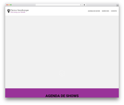 AccessPress Parallax free website theme - meninaheadbanger.com.br