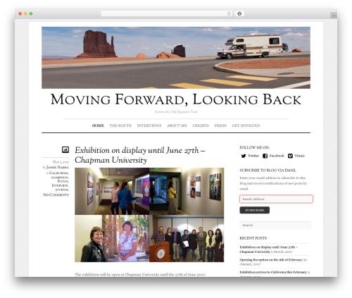Best WordPress template Elemin - movingforwardlookingback.us