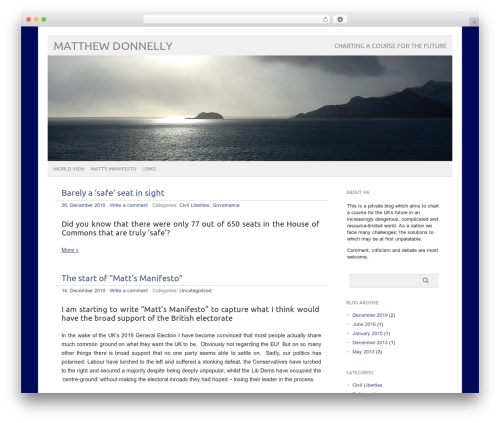 Best WordPress theme picolight - matthewdonnelly.info