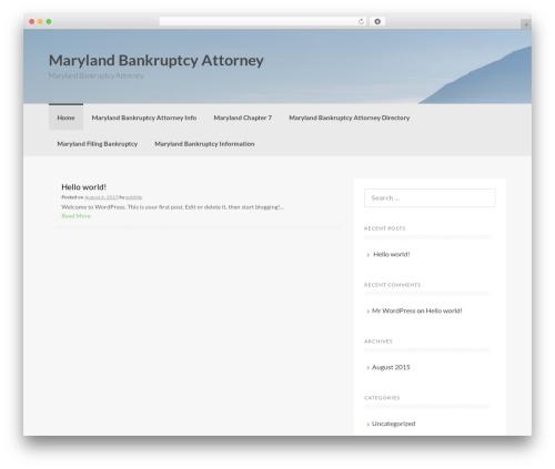 Coller WordPress template free download - marylandbankruptcyattorney.org